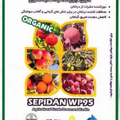 پودر ارگانیک سپیدان